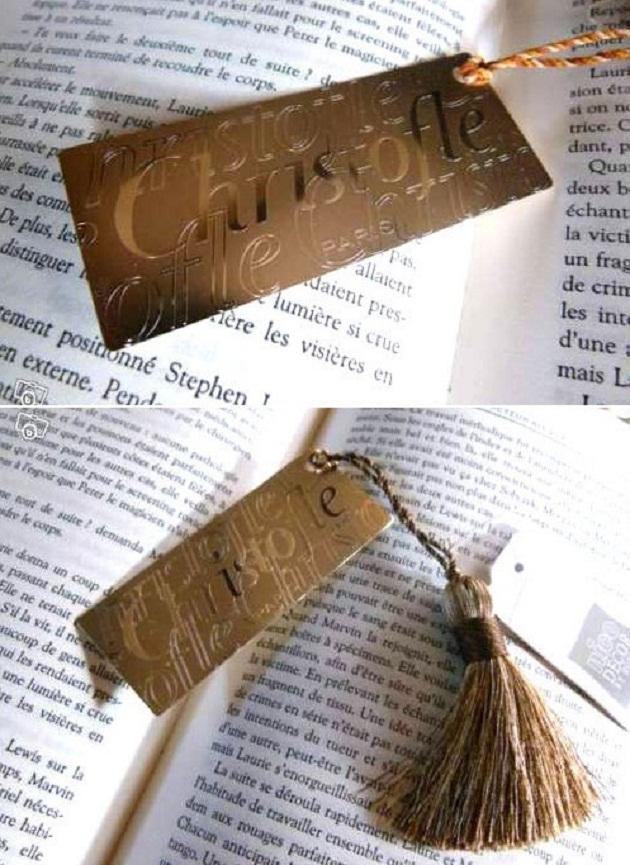 Christofle bookmark
