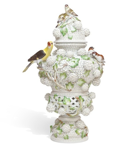 Snowball Blossom Vase