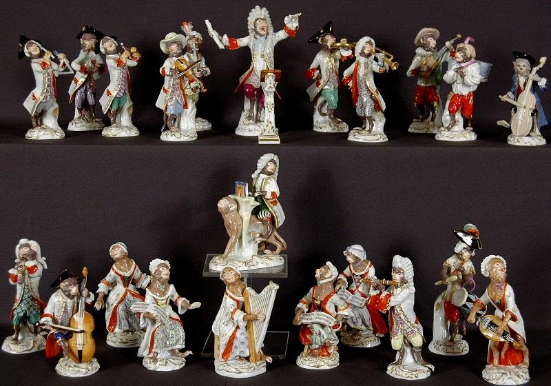 Meissen kolekcija figura