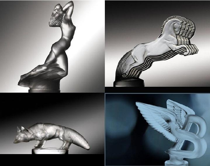 Lalique maskote