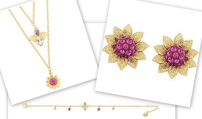 Bloom kolekcija je inspirisana prirodom i cvećem, a ukrašena je raznim bojama kristala koji sijaju na poseban način zahvaljujući Pointiage® tehnici u kojoj su urađeni.