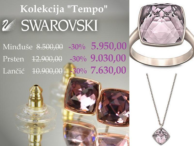 Swarovski kolekcija Tempo