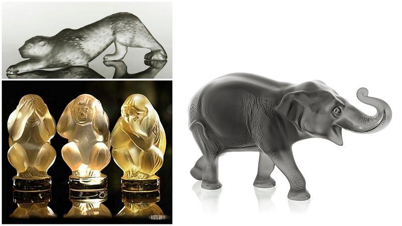 Lalique kristalne figure