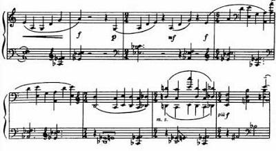 Bela sonata …