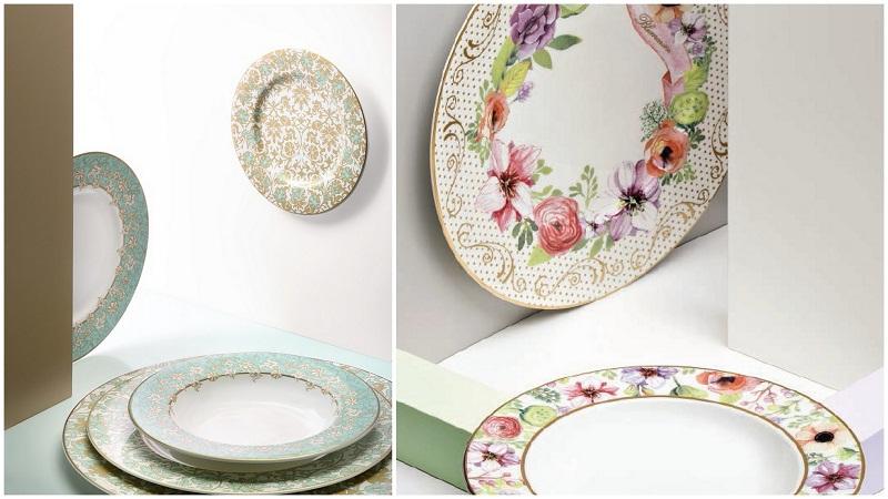 Vintage Floral & Lily Rococo