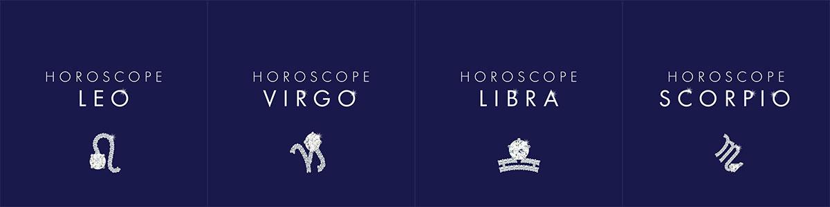 Leo, Virgo, Libra i Scorpio Swarovski Kolekcije
